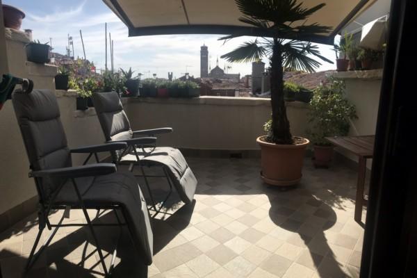 Sant Agostin mansarda con terrazza